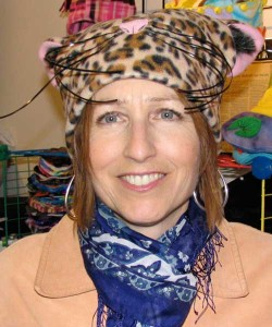 Mary in cat hat