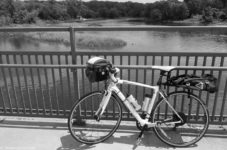 Bike at Coon Rapids Dam