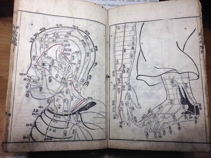 Chinese medicine book